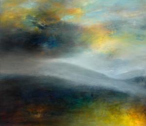 Approaching Storm. Oil on Panel. Helen Garrett.