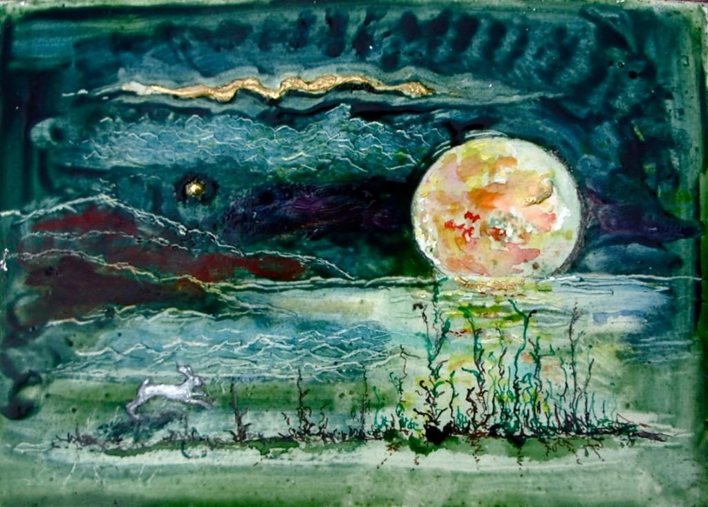 John Moat: Albino Hare