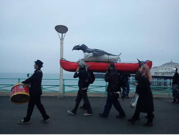 Feral Theatre: Remembering the Great Auk (Brighton 2011)