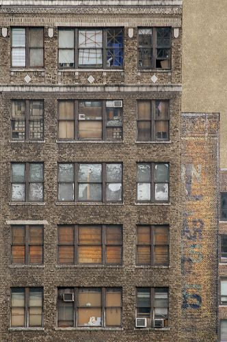 "©Marc Yankus, ""Many windows in chels ,"" 2013, Archival pigment print, Courtesy of the artist and ClampArt, NYC."