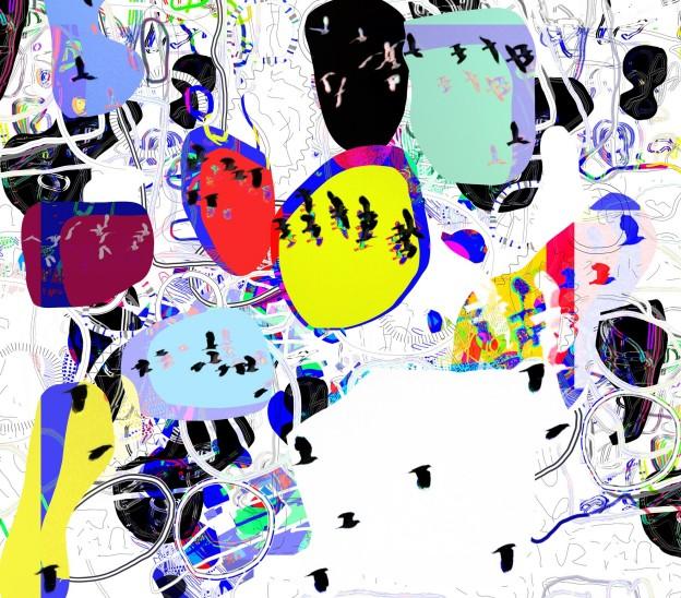Lapwings 2015 91 x 102 cms, archival inkjet print