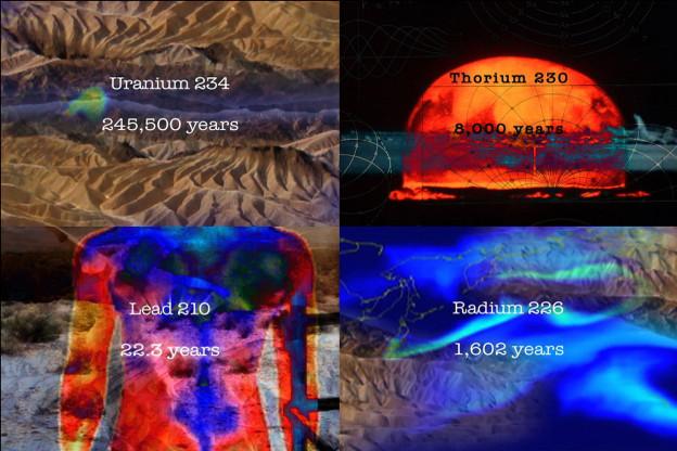 Uranium Daughters, 6 minute video. © Eve Andrée Laramée