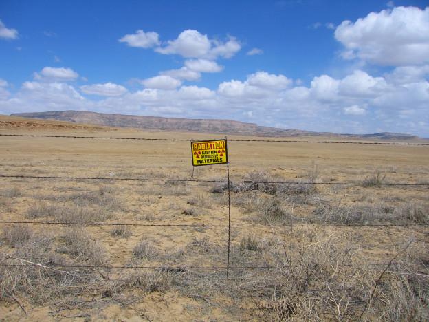 Ambrosia Lake uranium tailings, New Mexico. © Eve Andrée Laramée
