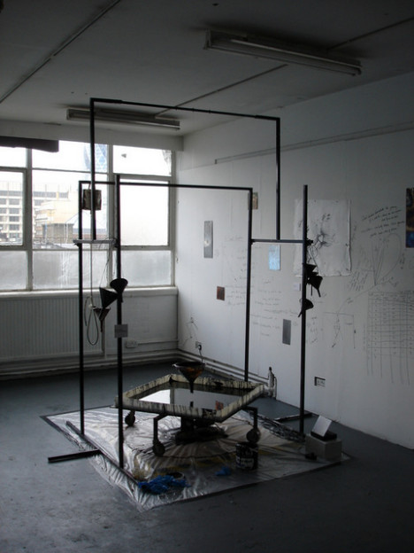 Laboratory- Heisenberg Certainty/Uncertainty Machine. Installation 2005.