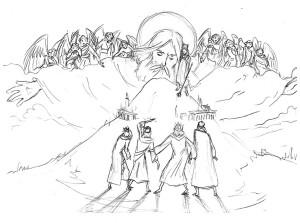 Milou van Montfort: psalm 2 (sketch)