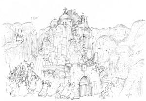 Niels Bongers: psalm 124 (sketch)