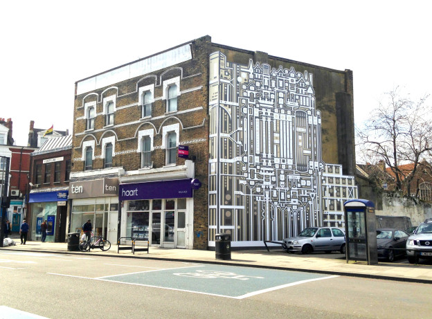 Tod Hanson: Balham high street 2015