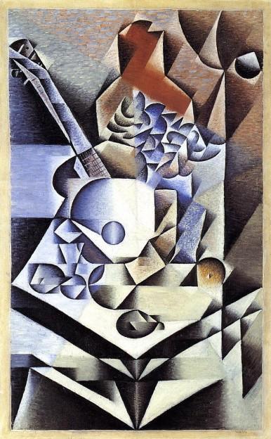 'La Guitarra', Juan Gris, 1918