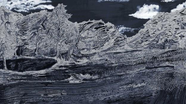 Julius Colwyn: A Dancing Principle (Landscape Painting)