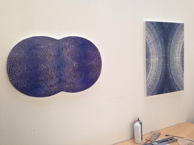 Daniel Hill: Installation- Untitled 1, 2015 & Untitled 2, 2015