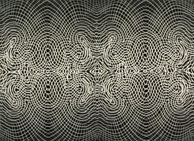 """Daniel Hill: Untitled 19, 2012, 22"""" x 30"""""""