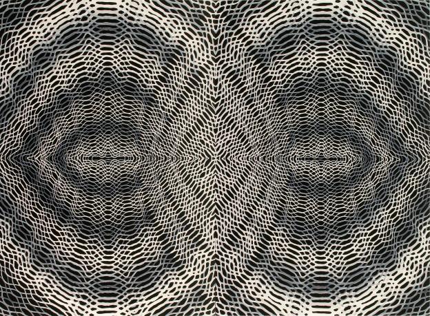 """Daniel Hill: Untitled 37, 2012- 44"""" x 60"""""""