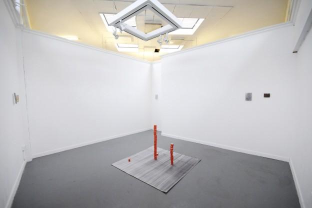 Steven Maybury: Groove Chronicle (pen on paper, 150cm x 150cm, 2014)–Solo exhibition in The Market Studios, Dublin, June 2014.