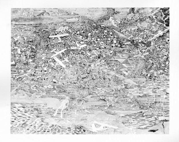 Gerald Davies: Flood Story Planes & Cars