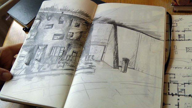 Naomi Shaw sketchbook