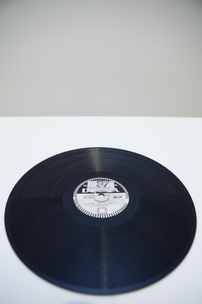 Naomi Kashiwagi: Record Drawing, Steel Needle, Shellac Record