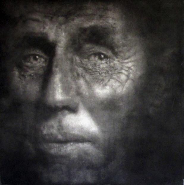 Caroline Burraway: Untitled 18, charcoal