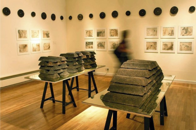 Figure 4: Claire Pentecost, Soil-erg, in Deep Roots at Falmouth Art Gallery, Cornwall, UK. Photograph Martyn Windsor.