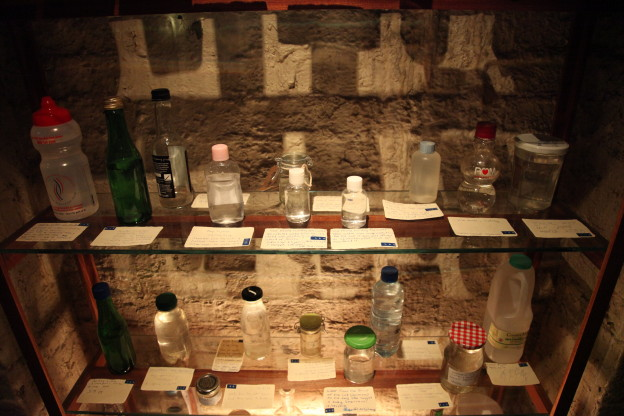 Figure 5: Amy Sharrocks 'Museum of Water', Somerset House, London 2014. Photograph Ruth Corney.