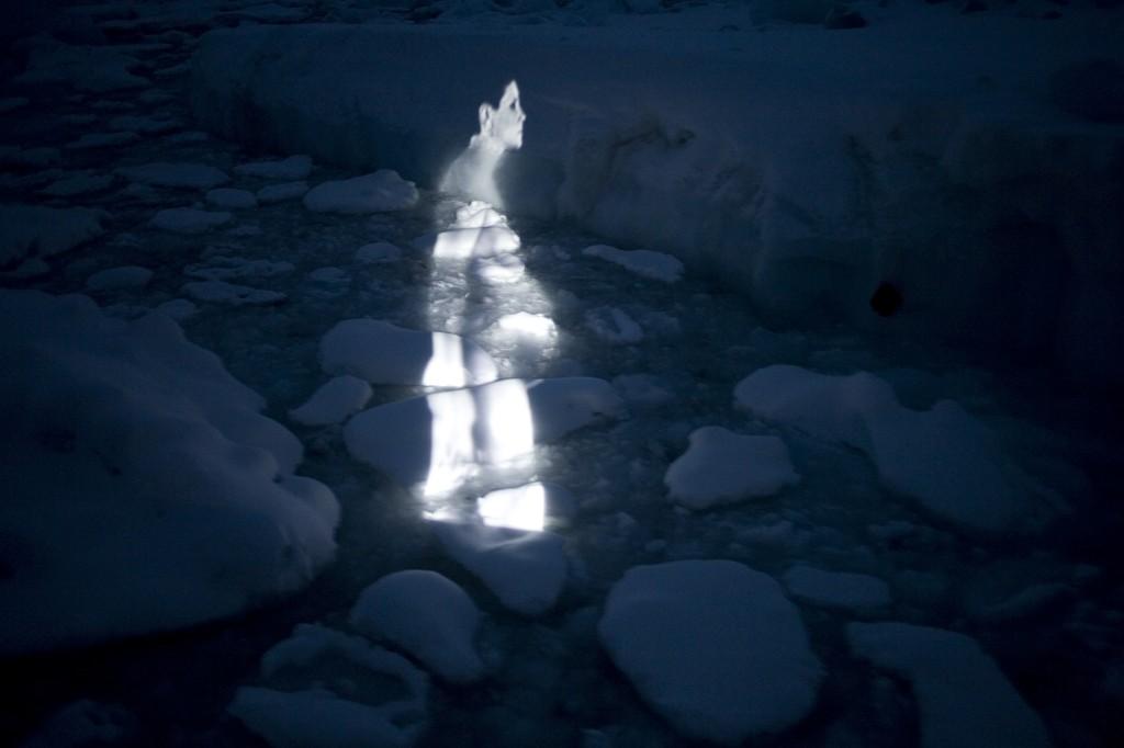 Pregnant Ice Walk1