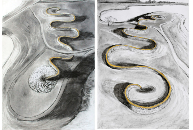 Chris Drury: The Wandering drawings