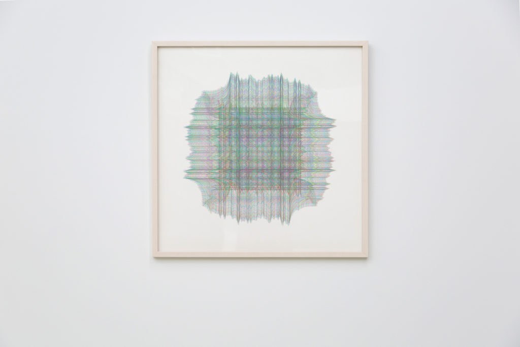 "Recursive Expressions (Squint #1), 2016, archival pigment print on hot press cotton rag 24"" x 24"", Photo by Heather Halbert"