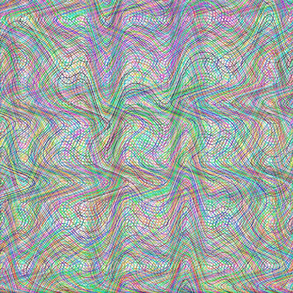Detail of Recursive Expressions (Squint #1), 2016, archival pigment print on hot press cotton rag