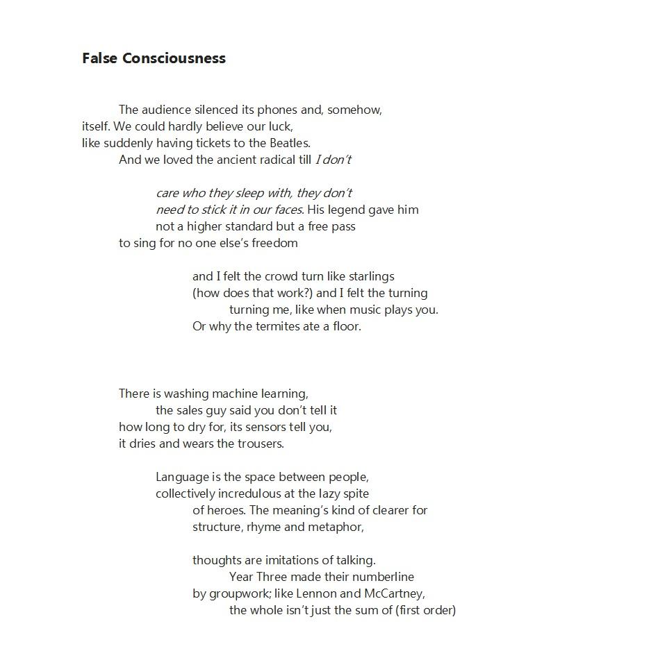 False Consciousness 1 - Interalia Magazine